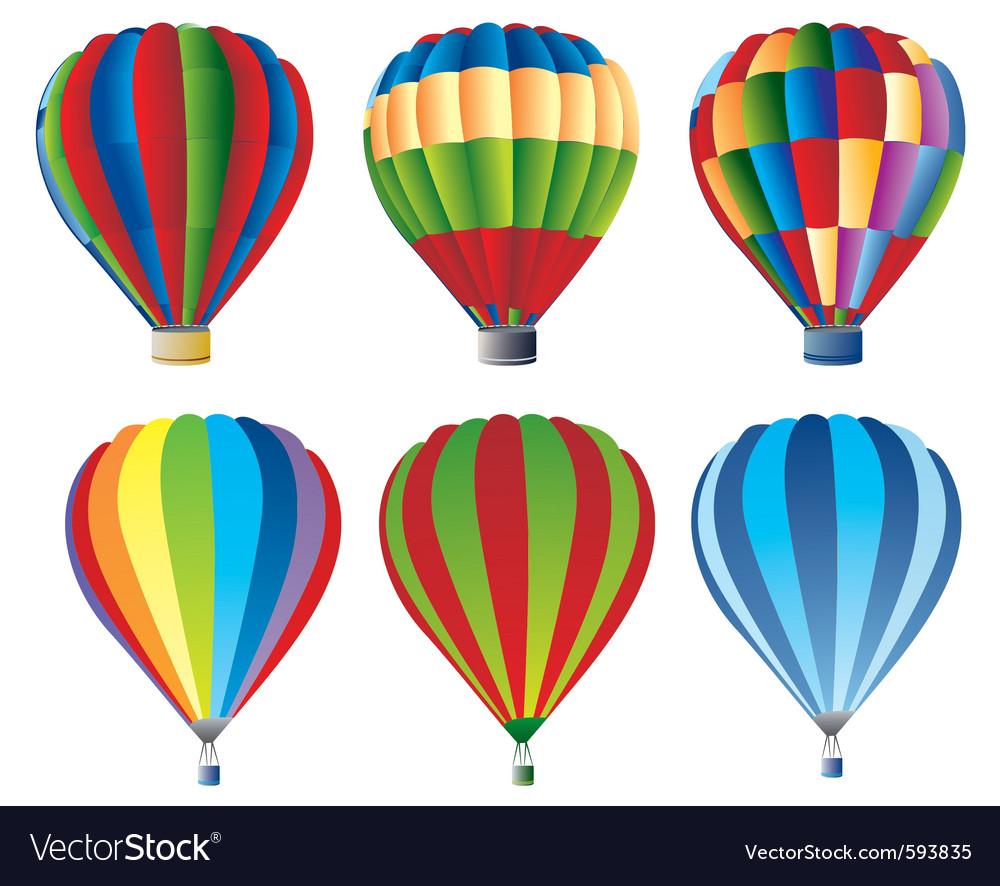 hot air balloons royalty free vector image vectorstock hot air balloon clipart for kids hot air balloon clipart for kids