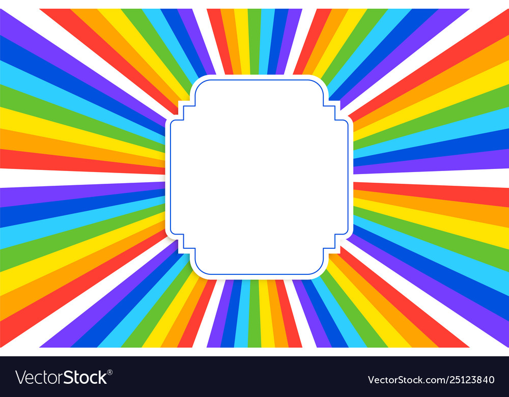 Abstract retro rainbow colors background