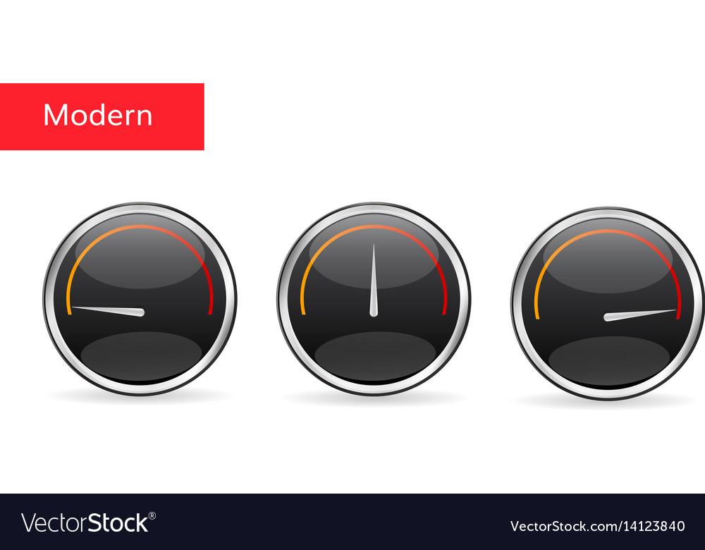 Download speed tachometer icon