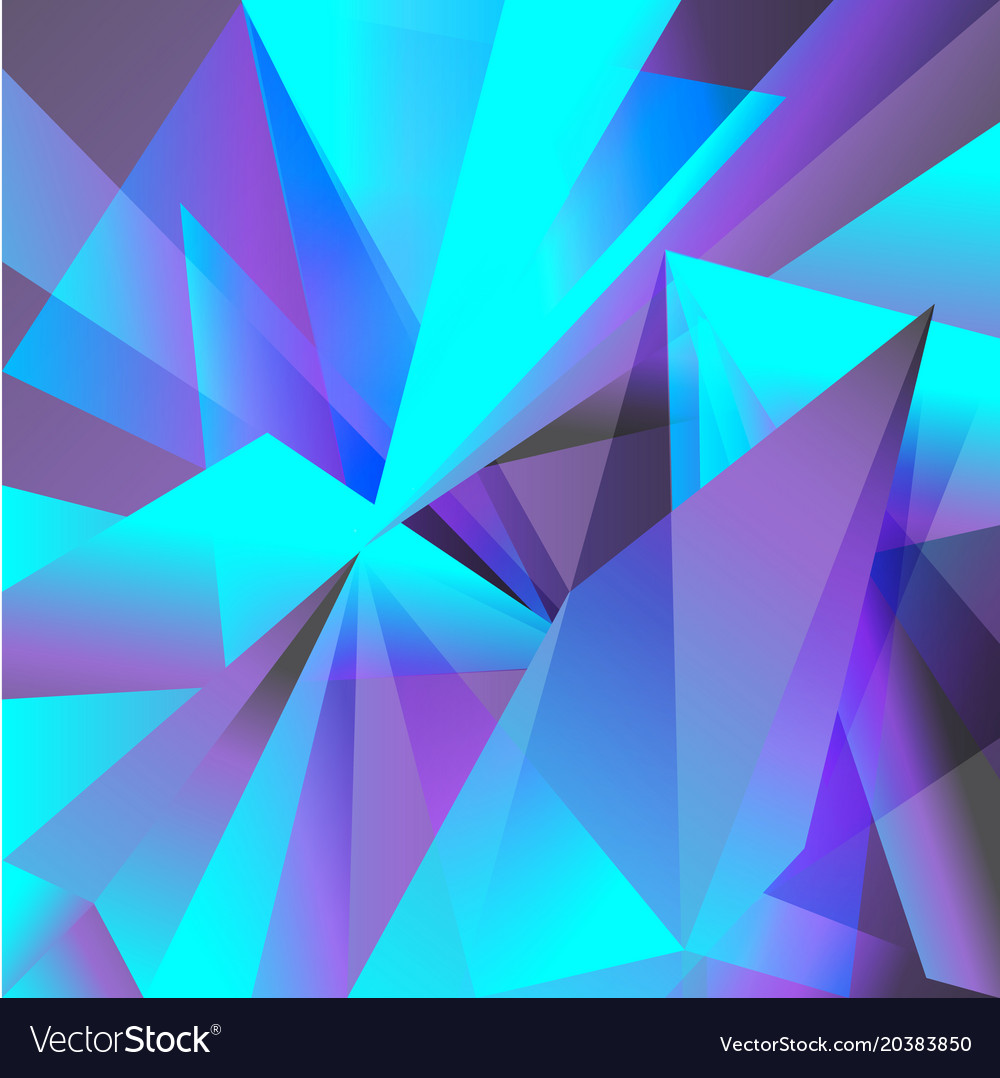the best attitude d4baa 17f74 Geometric background purple turquoise abstraction Vector Image