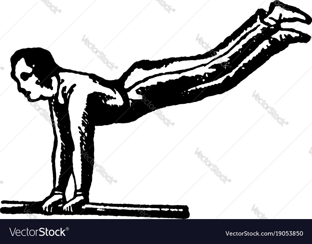 Gymnastics vintage