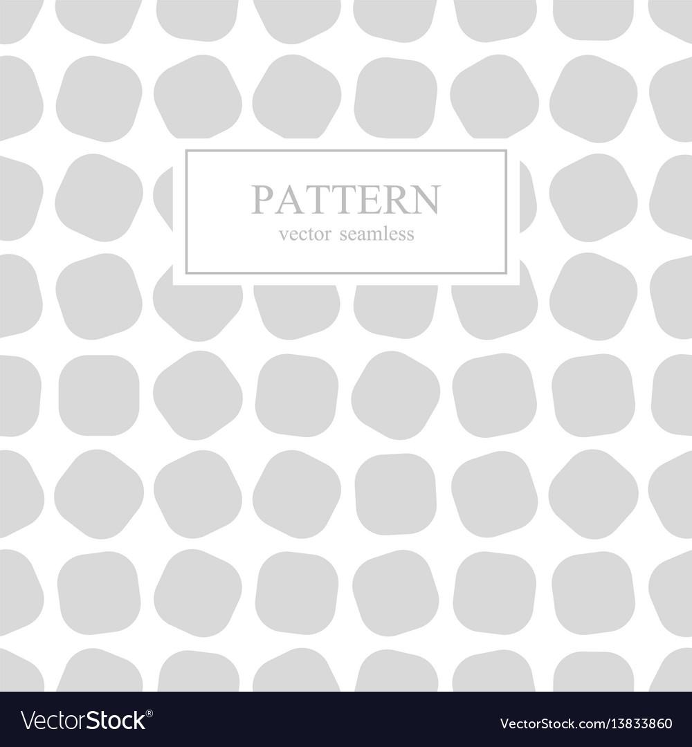 Chaotic square seamless geometric pattern