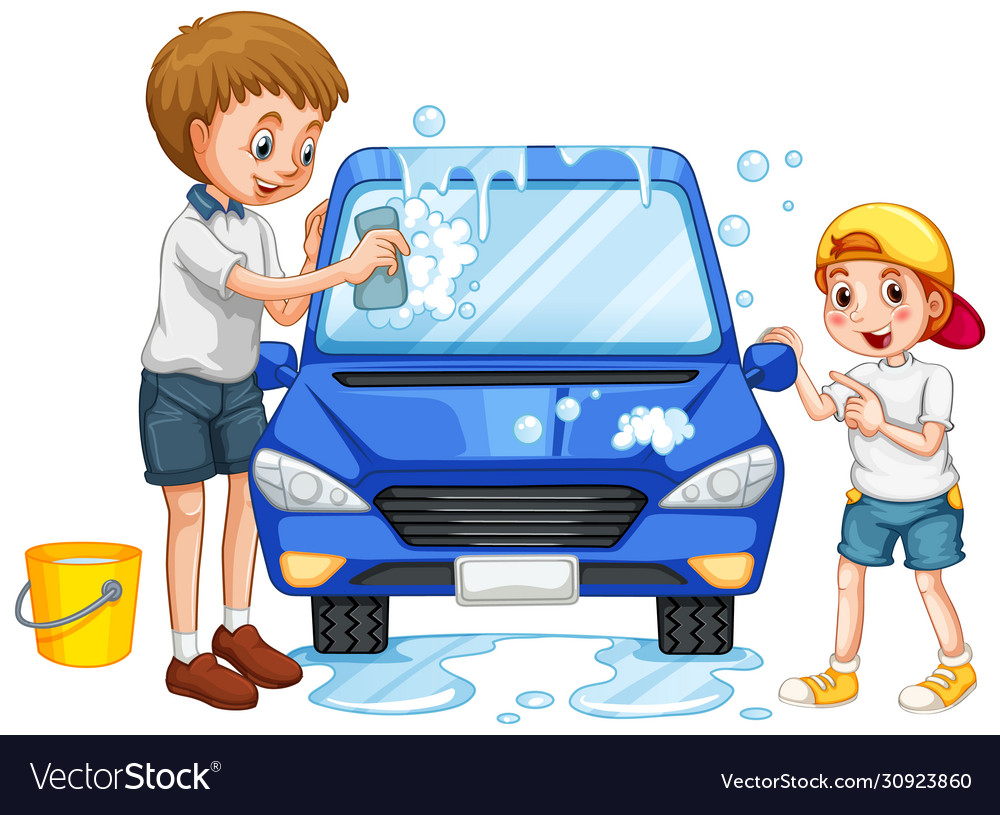 Car Clipart Wash Vector Images 80