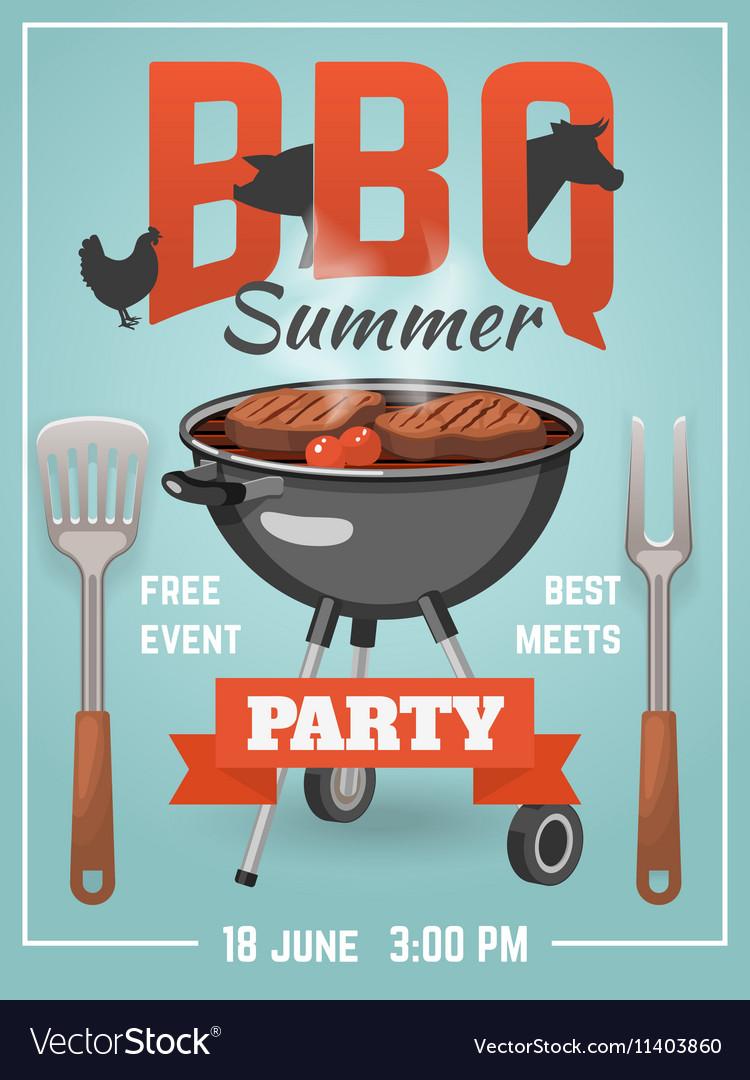 Summer BBQ Poster