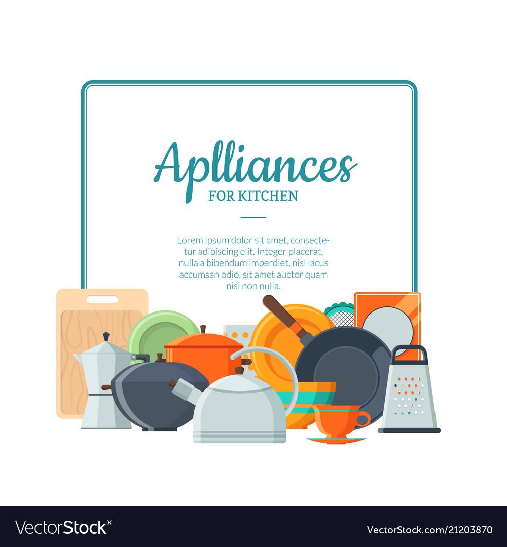 Kitchen utensils flat icon