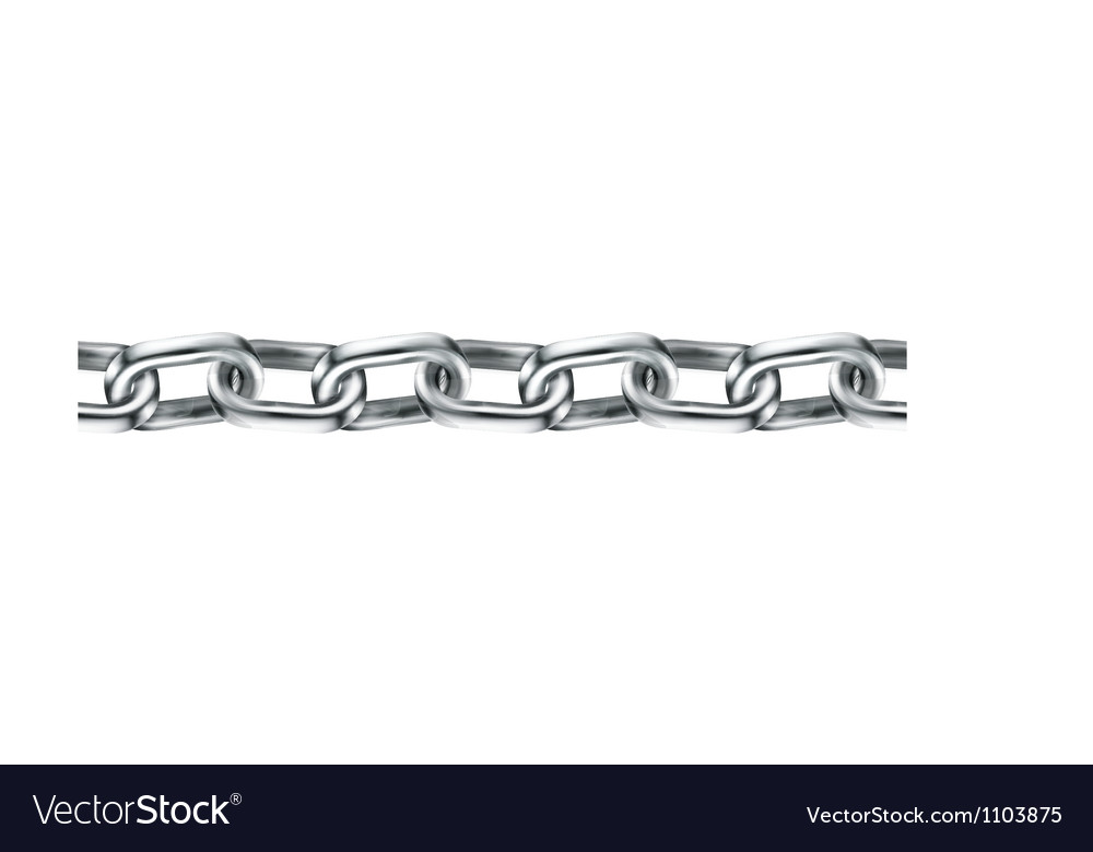 Chain seamless vector image