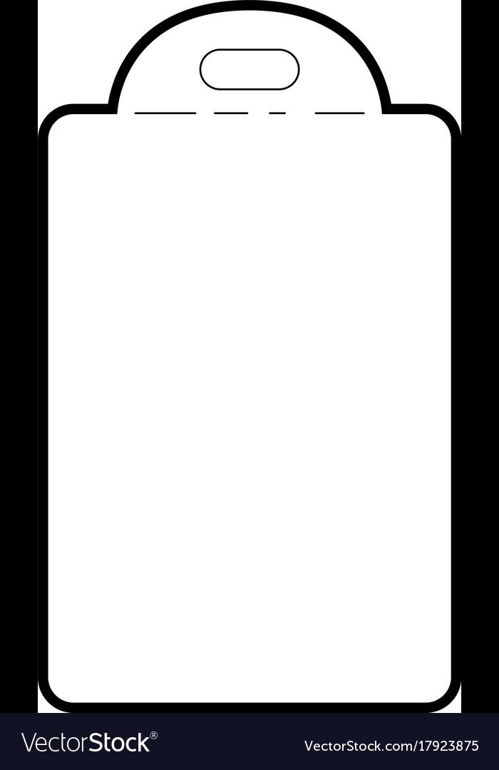 Chopping board utensil black silhouette
