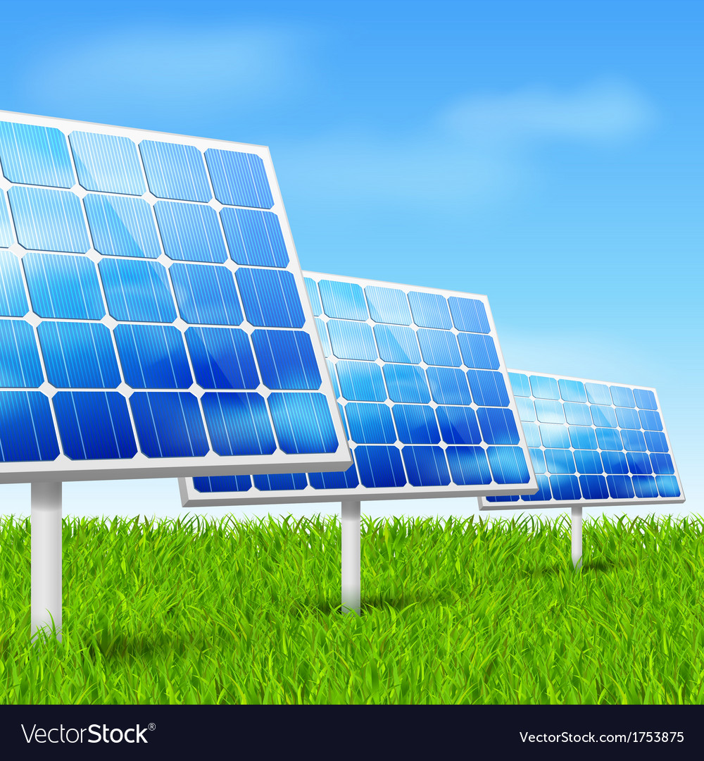 Eco energy solar panels