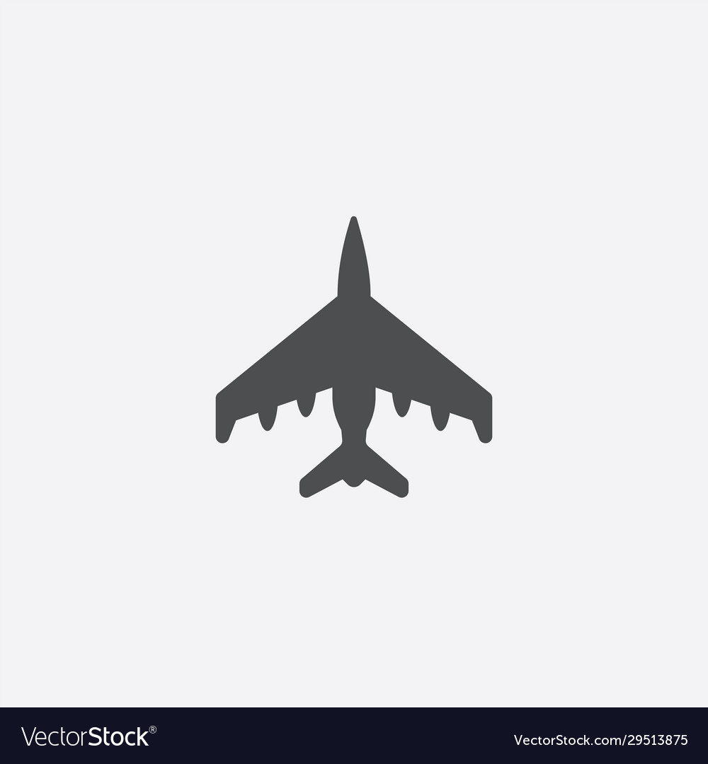 Fighter outline icon