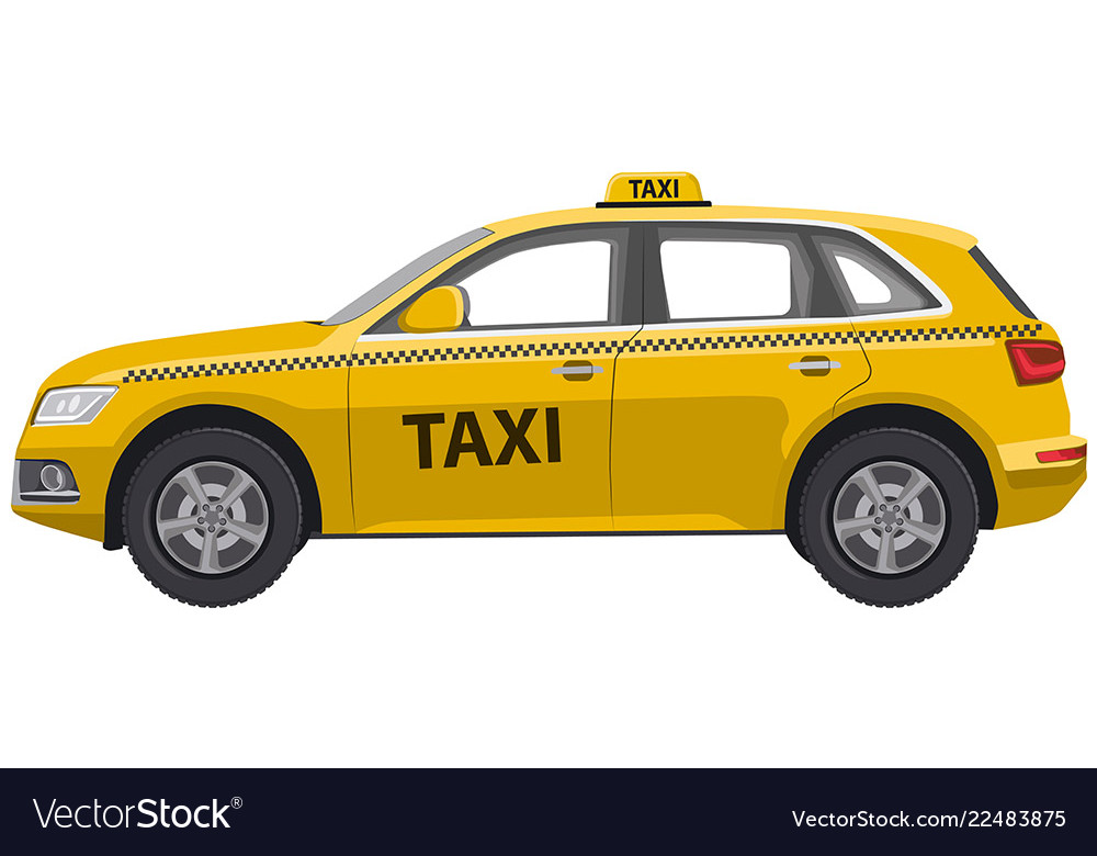 Taxi car jeep hatchback