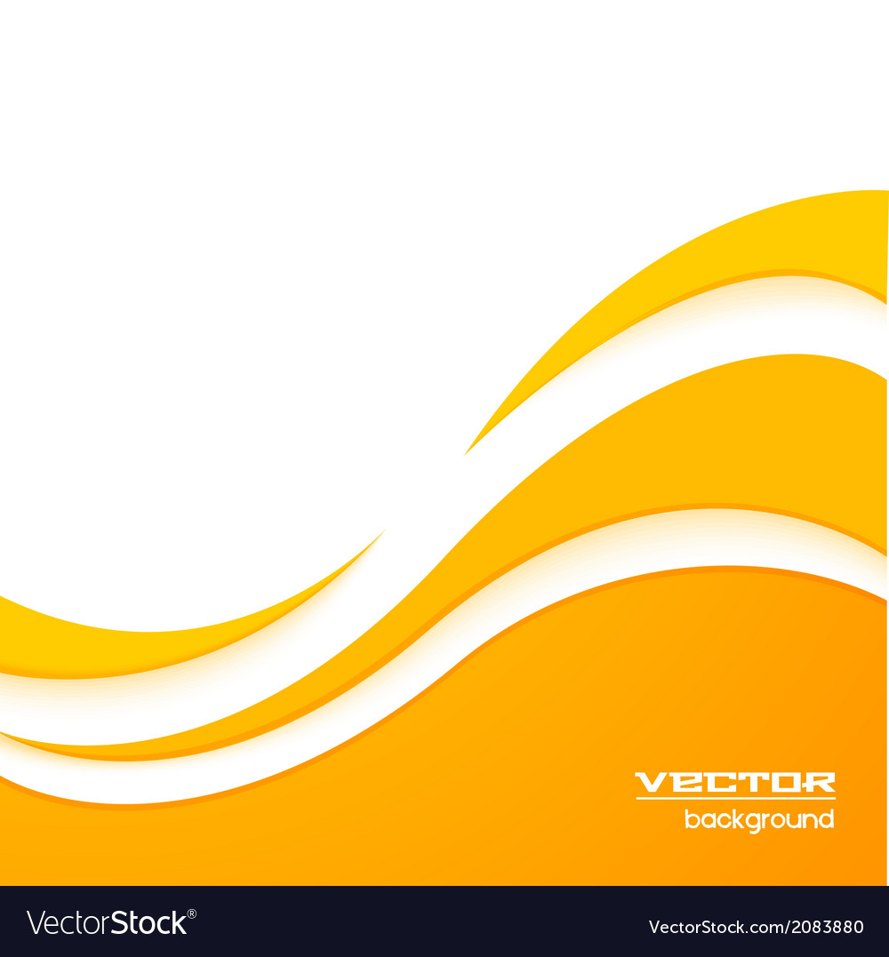Yellow wave background Royalty Free Vector Image for Yellow Vector Graphics Design Background  555kxo