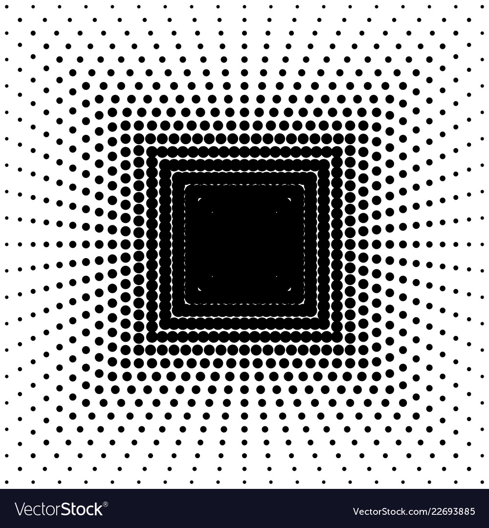 Black abstract background with halftone effect