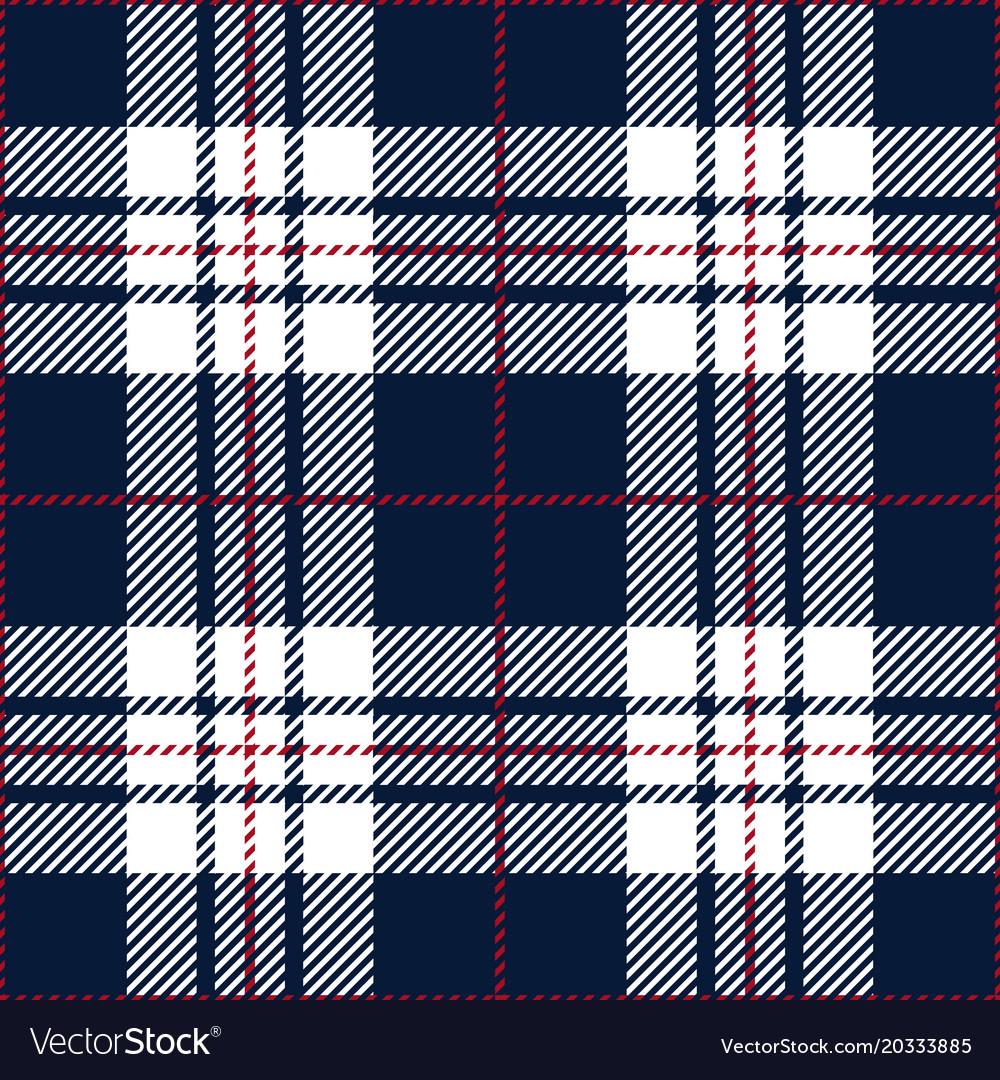 Blue tartan plaid seamless pattern