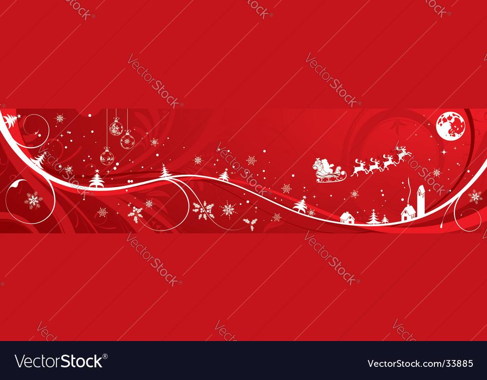 Christmas background banner