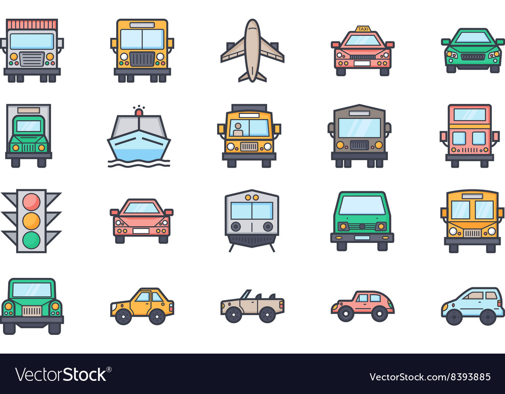 Transport Icons 4