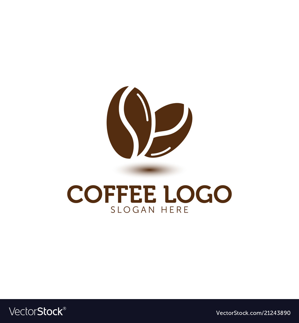Coffee logo icon template