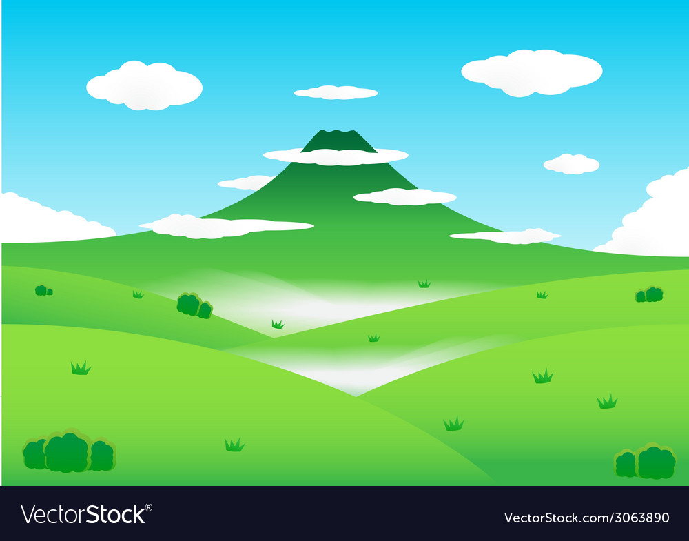 Nature mountain background