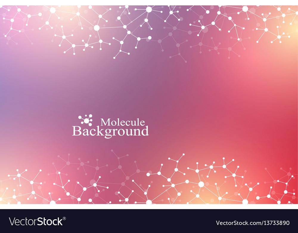 Scientific chemical pattern structure molecule