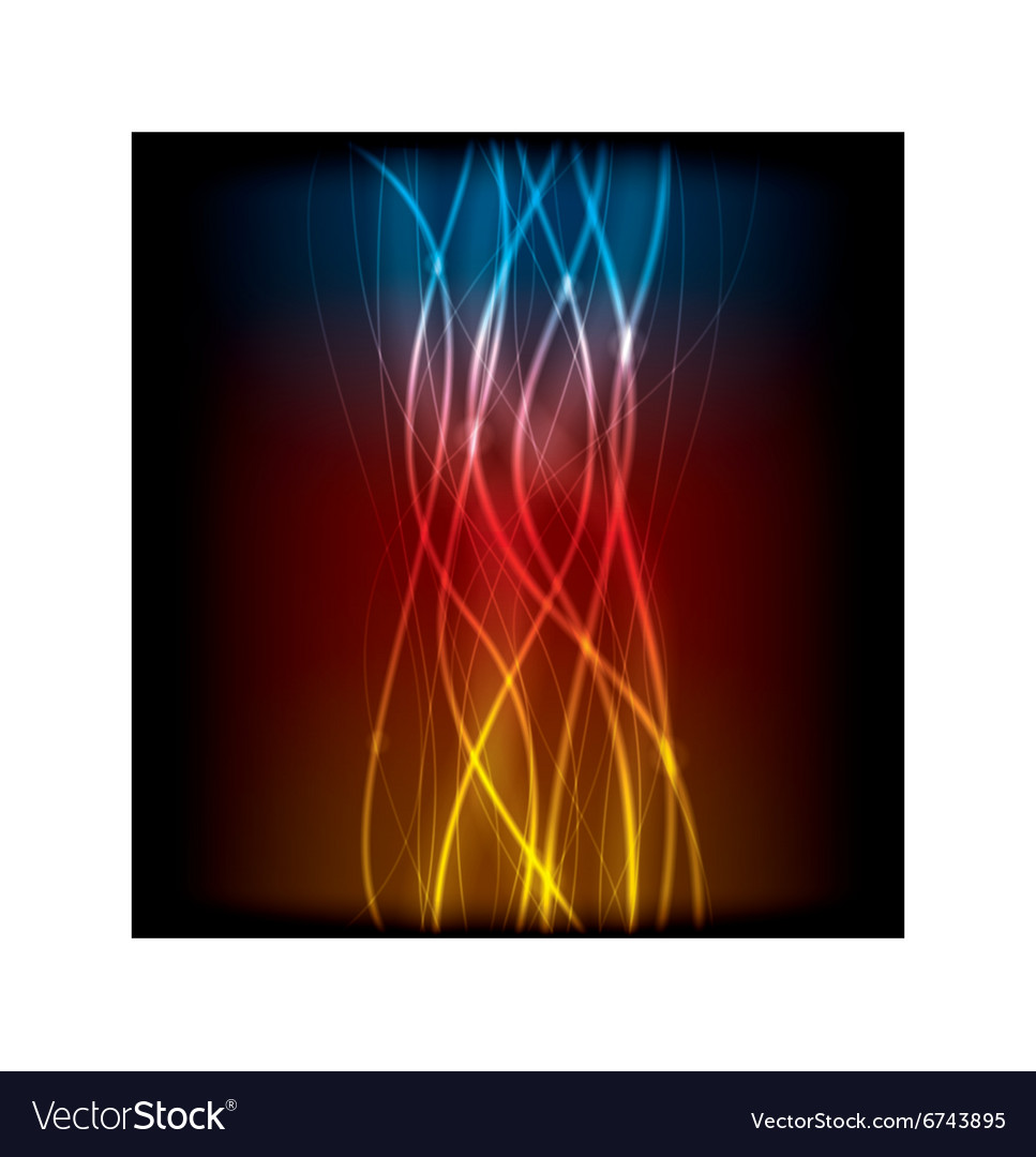 Abstract lines design on background