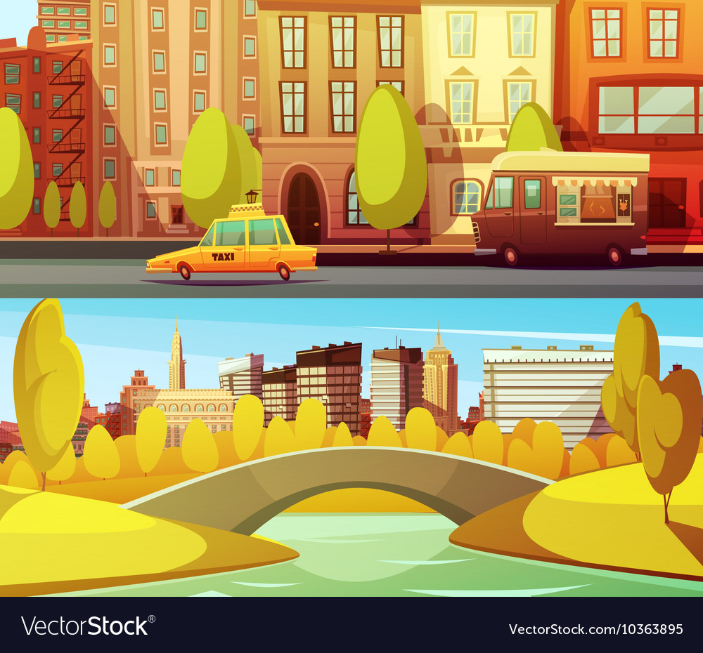 New York Horizontal Banners