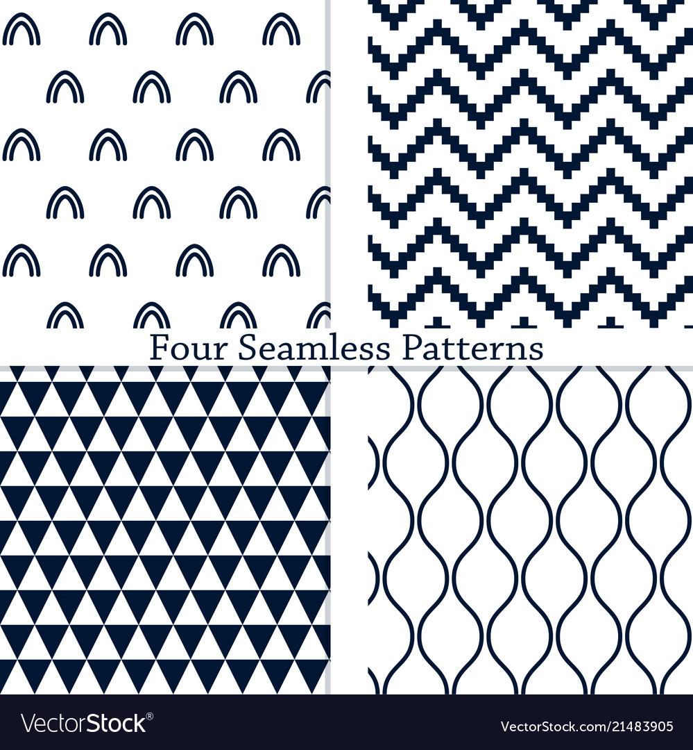 The geometric patterns
