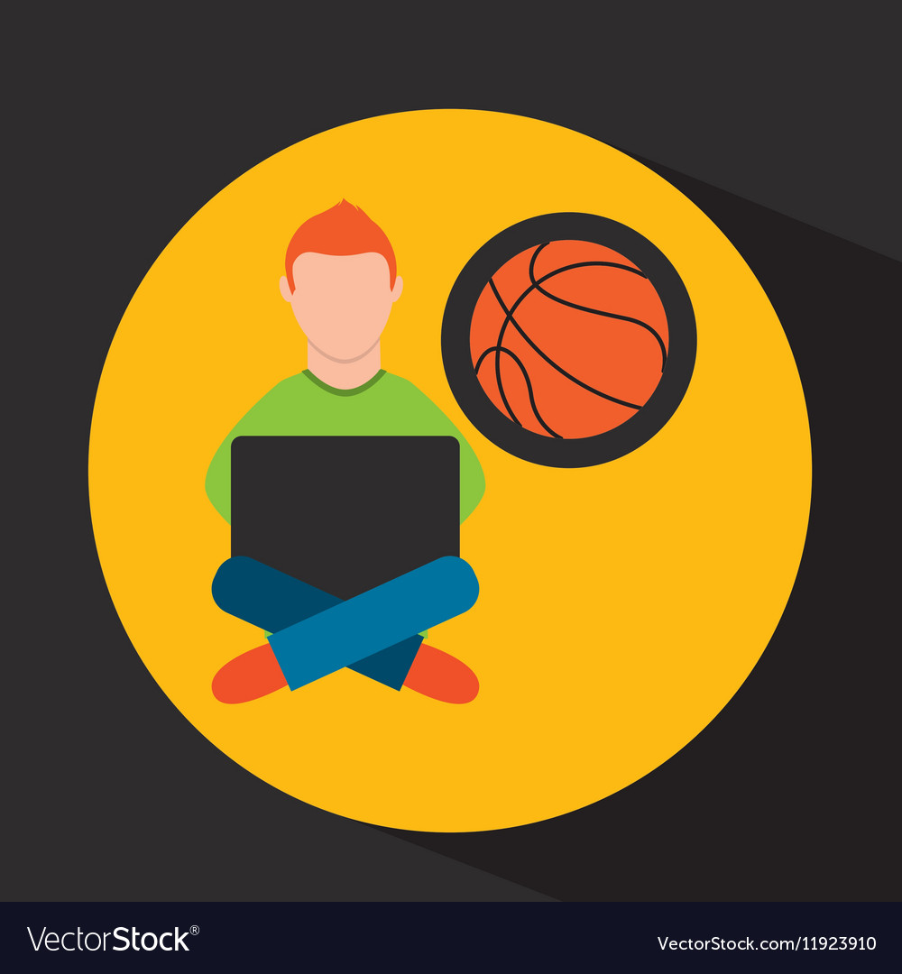Online training education-student sports
