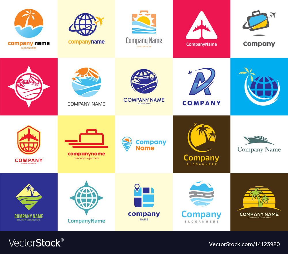 20 high quality travel agent holiday vacation logo