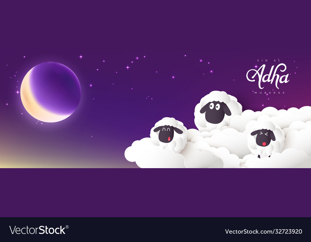 Eid al adha mubarak celebration muslim