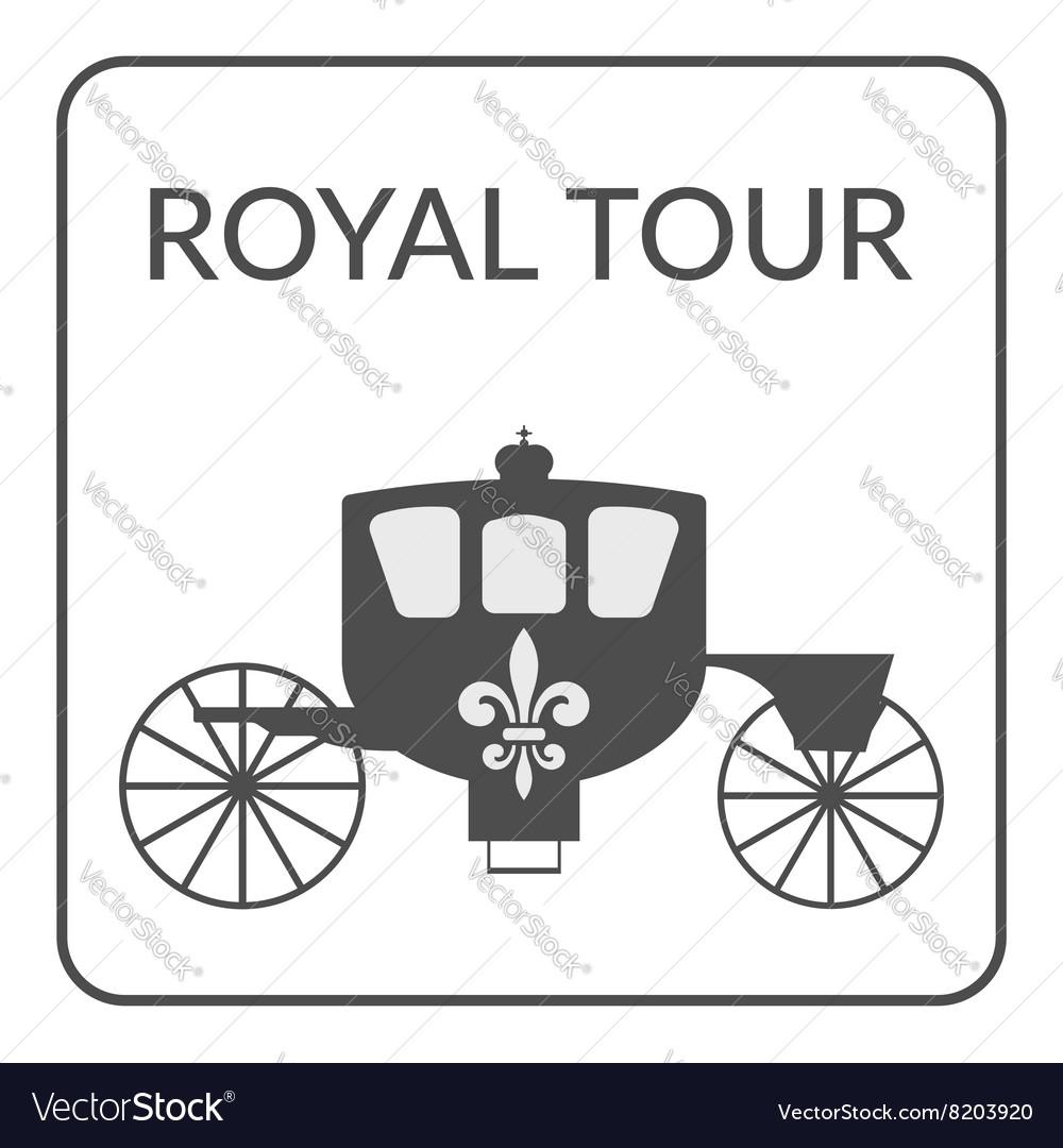 Royal tour sign