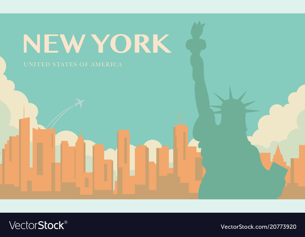 Statue of liberty new york landmark and symbol of
