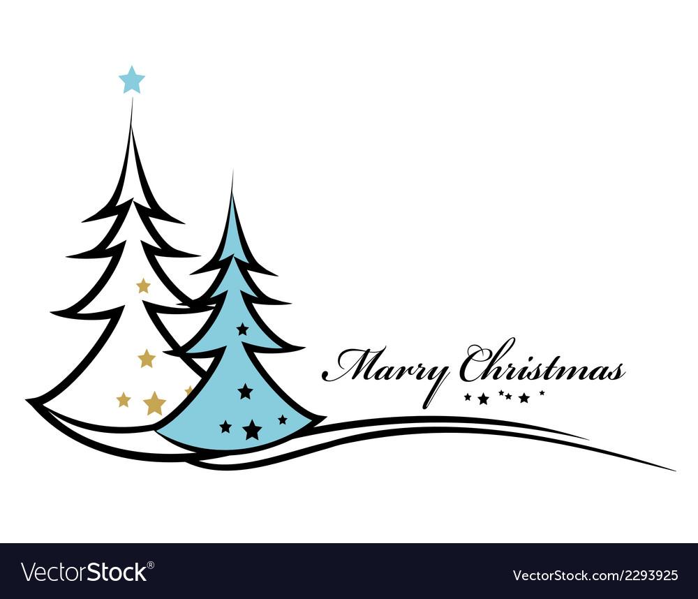 Beauty Christmas tree background