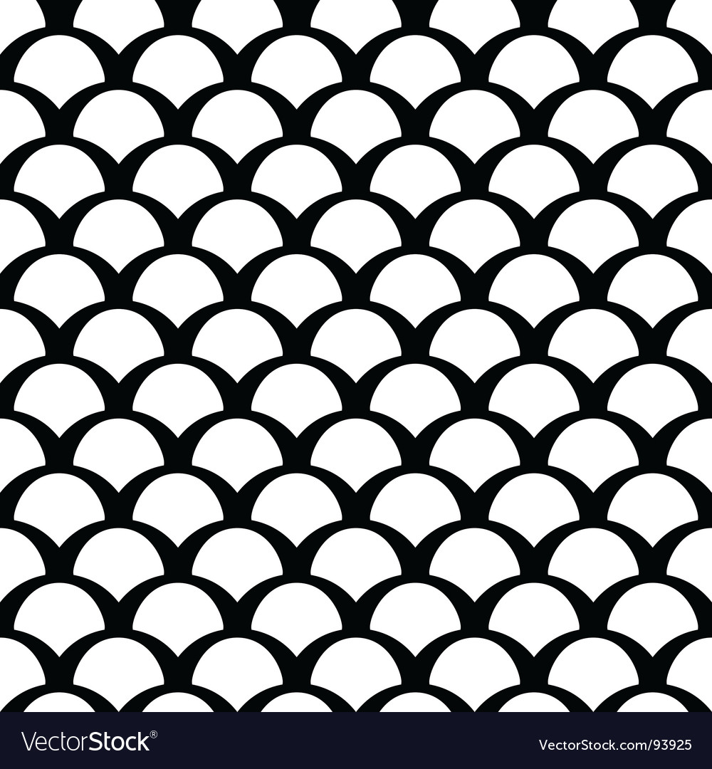 Black and white squamous pattern