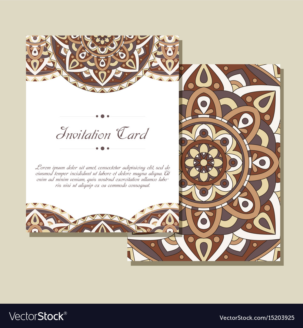 Set Of Wedding Invitations Wedding Cards Template