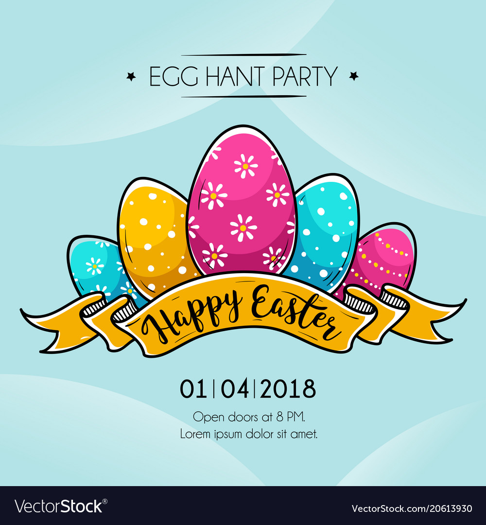 Easter Happy banner pictures