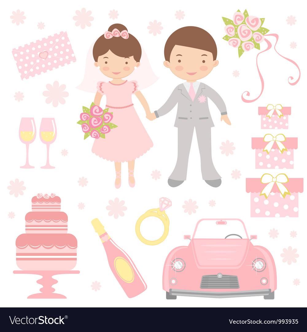 Cute wedding