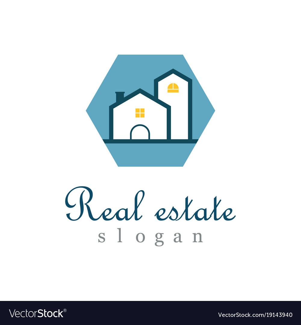 Polygon real estate logo