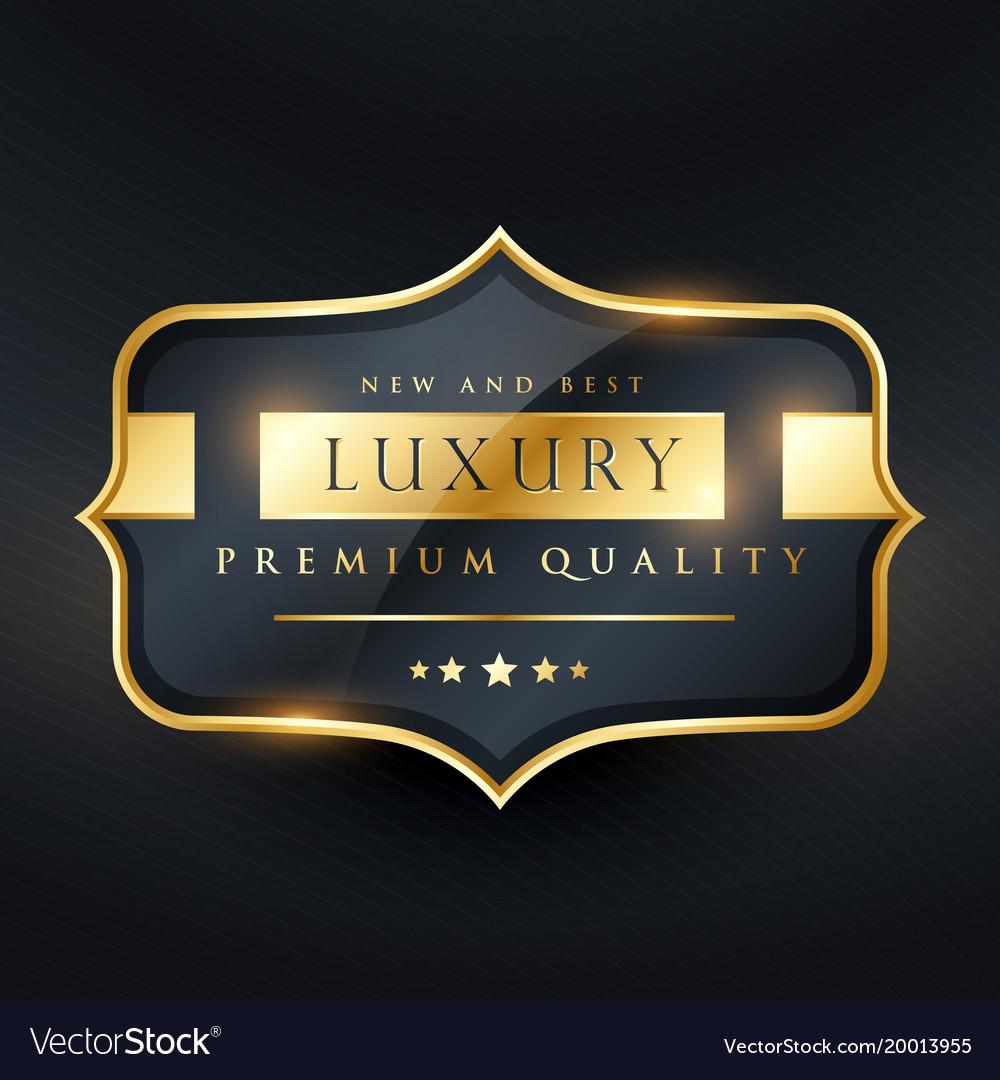 Premium quality label design