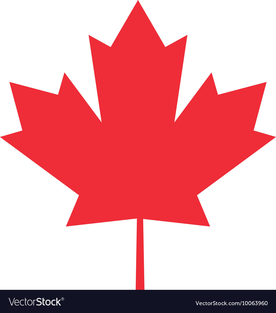 Canada Flag Maple Leaf Icon Royalty