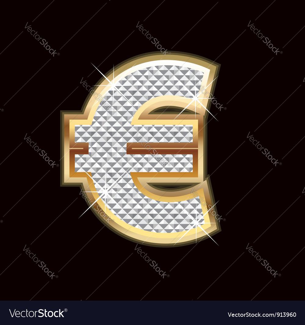 Euro money sign