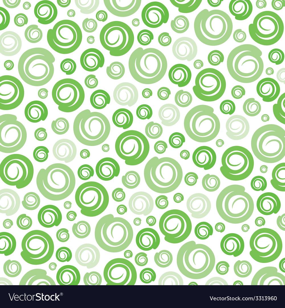 Green swirl pattern background