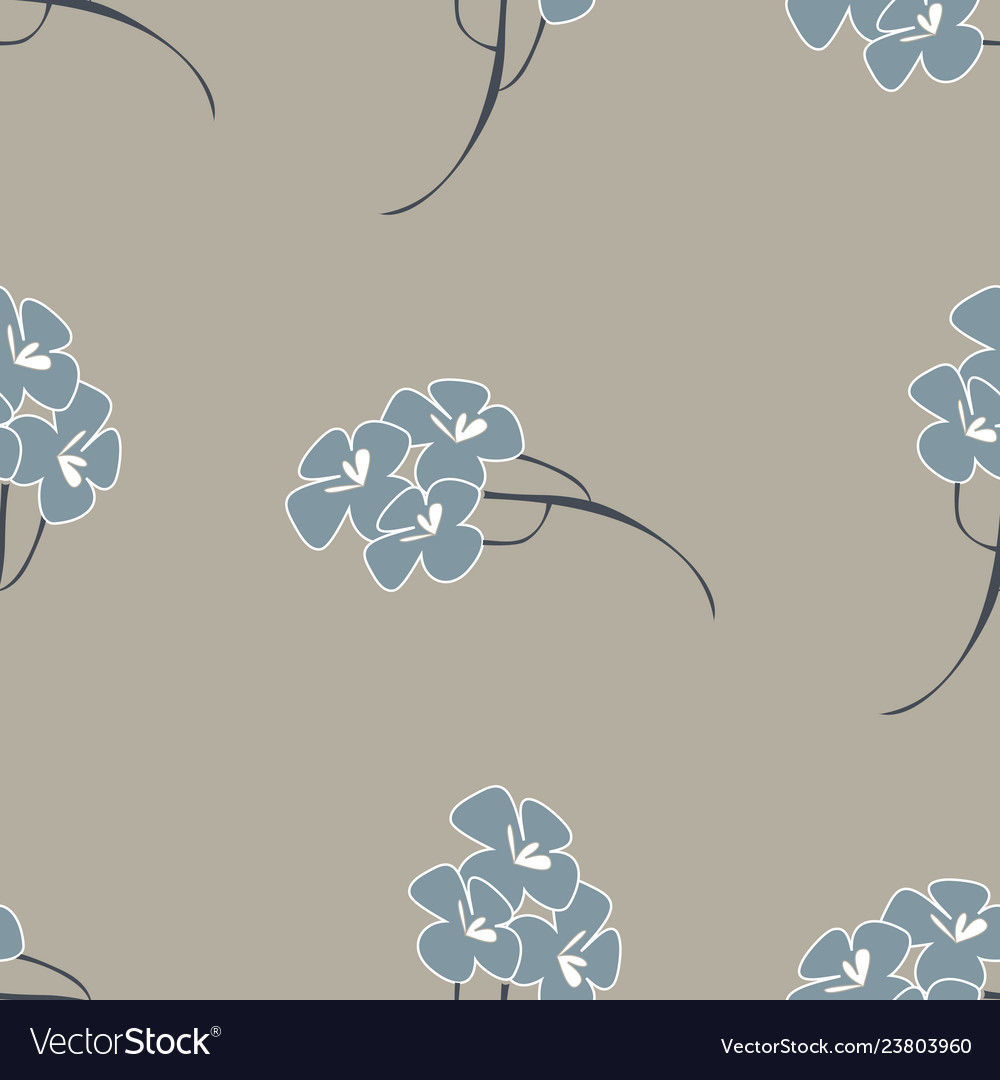 Seamless pattern background with flowers like