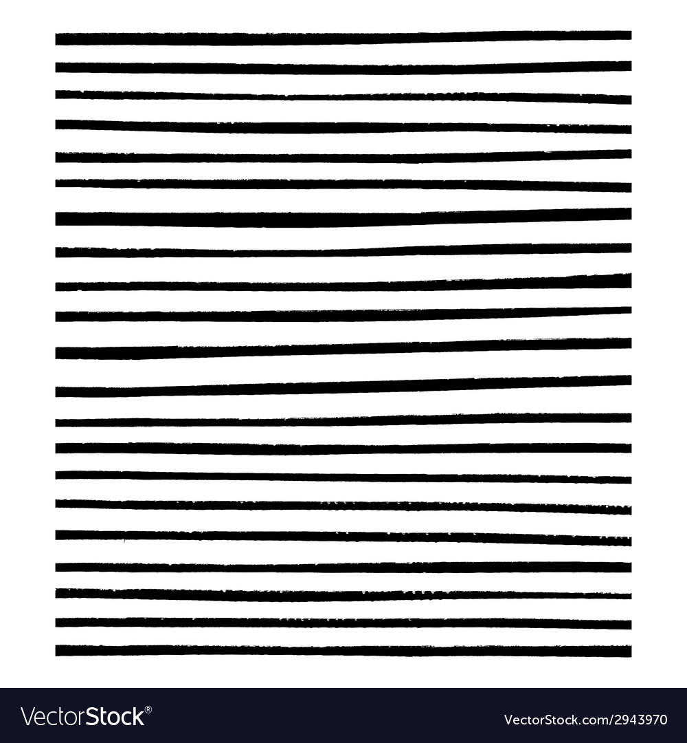 Grunge Lined Brushes vector image
