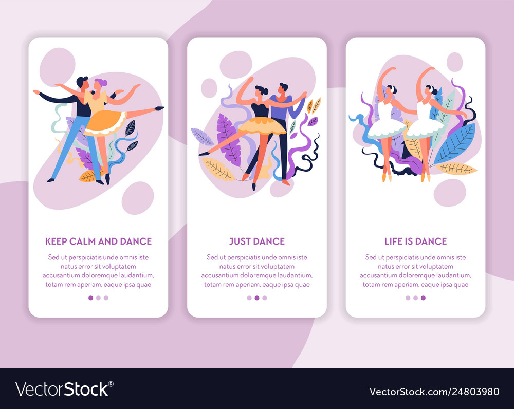 Dance classes online web page template ballet and