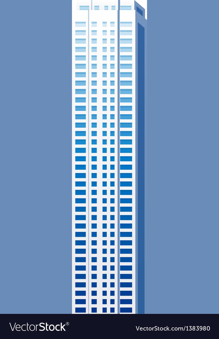 Icon skyscraper