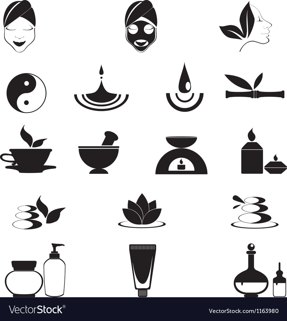 Wellness icon  Wellness icons Royalty Free Vector Image - VectorStock