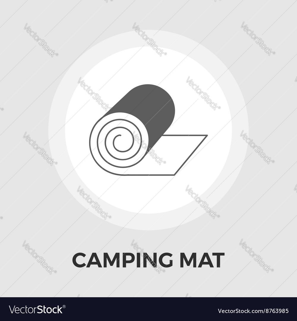Camping mat Flat Icon