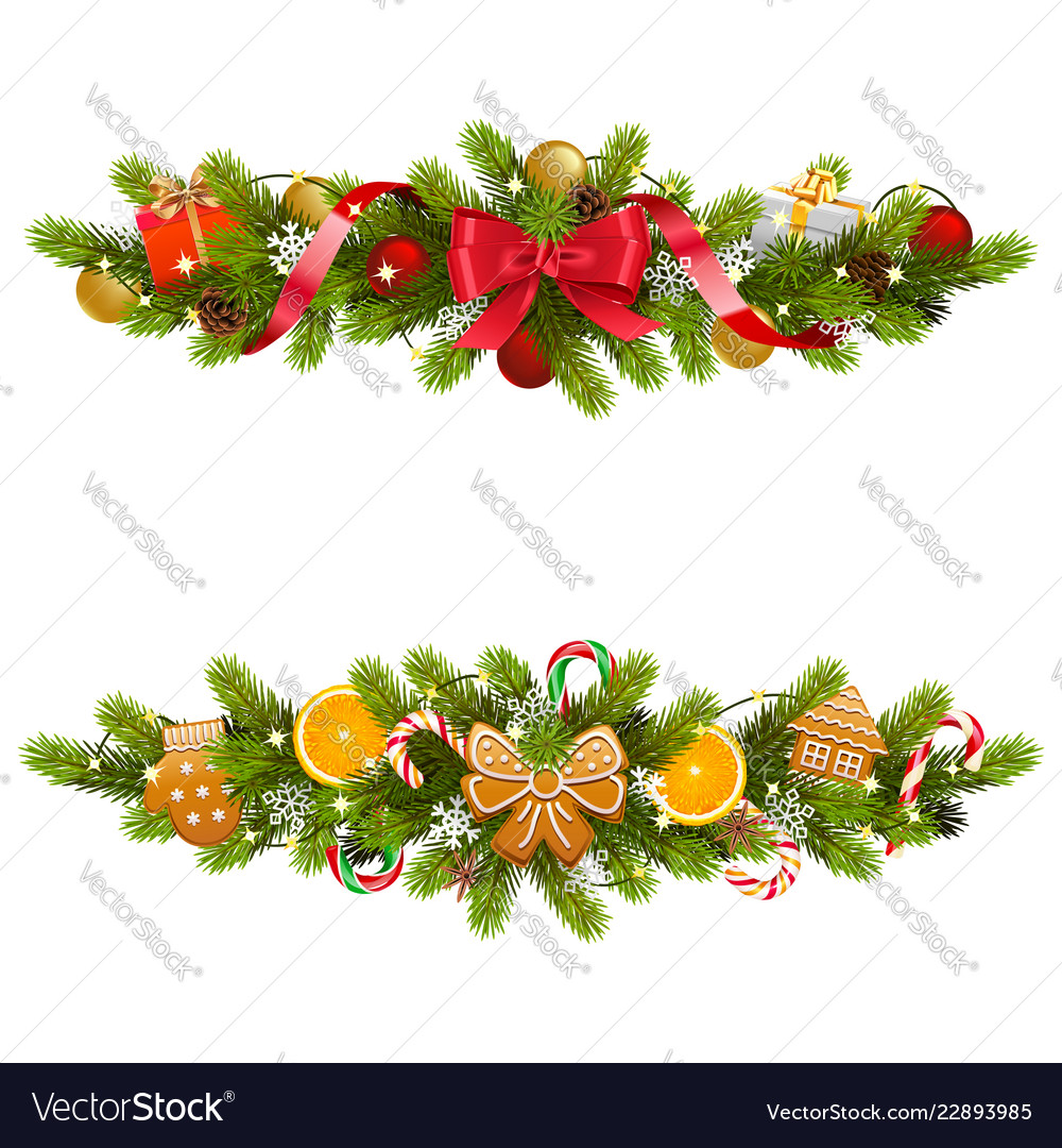 low priced 80041 76a90 Christmas fir decoration with garland