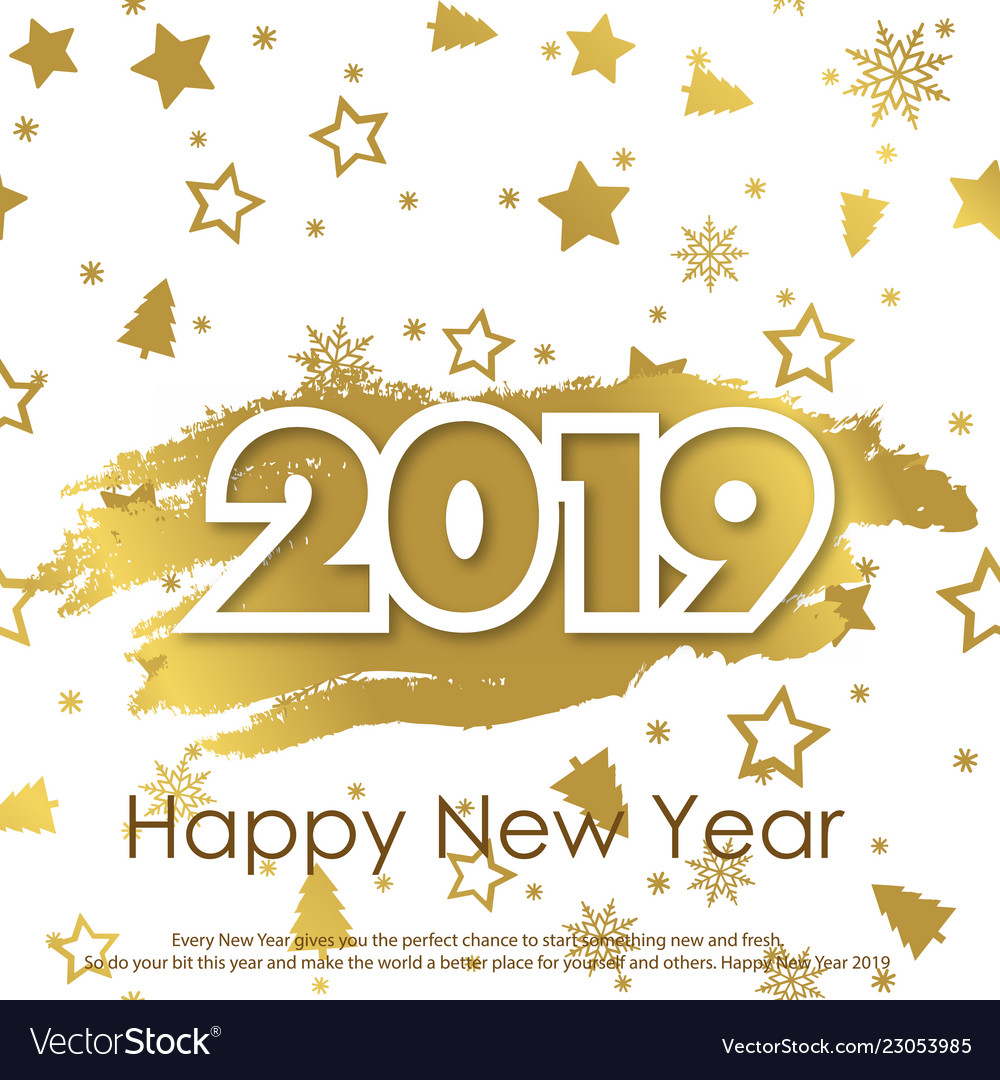 Happy New Year Greeting Card 21