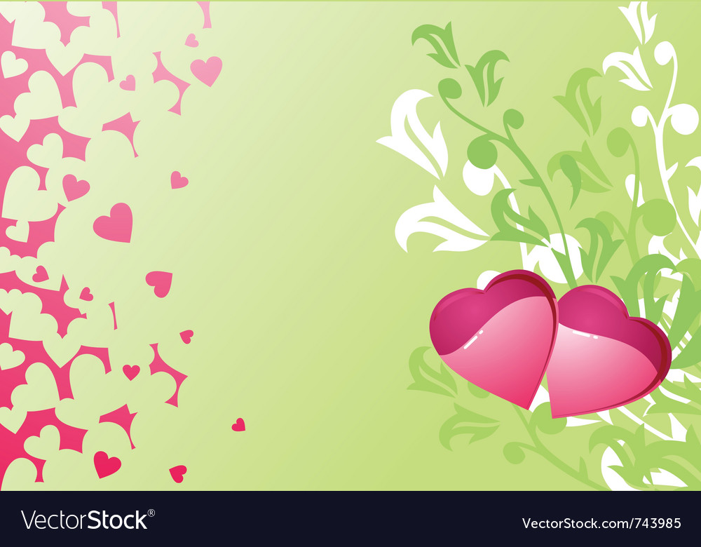 Description love hearts and background valentines or wedding