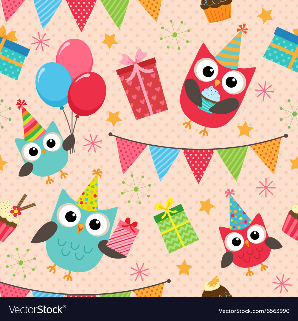 Birthday party pattern